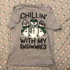 Winter themed T-shirt
